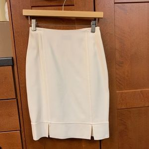 Vintage Cream Rena Lange Skirt ladies sz 0-2